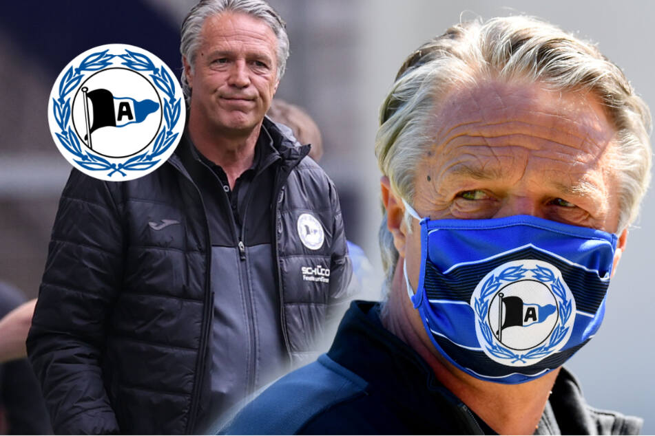 Schon ewig nicht mehr beim Friseur: Bielefeld-Trainer Neuhaus sieht sich als Vorbild