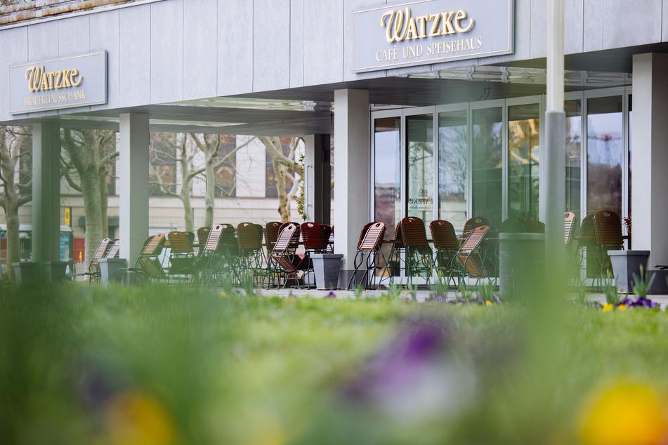 """Das Restaurant """"Watzke am Goldenen Reiter"""" wird ab sofort geschlossen bleiben."""