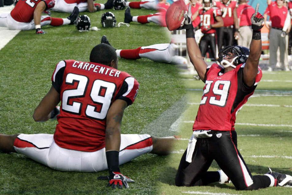 Er gehörte zu den ganz Großen: NFL-Star Keion Carpenter ist mit 39 Jahren auf tragische Weise gestorben.