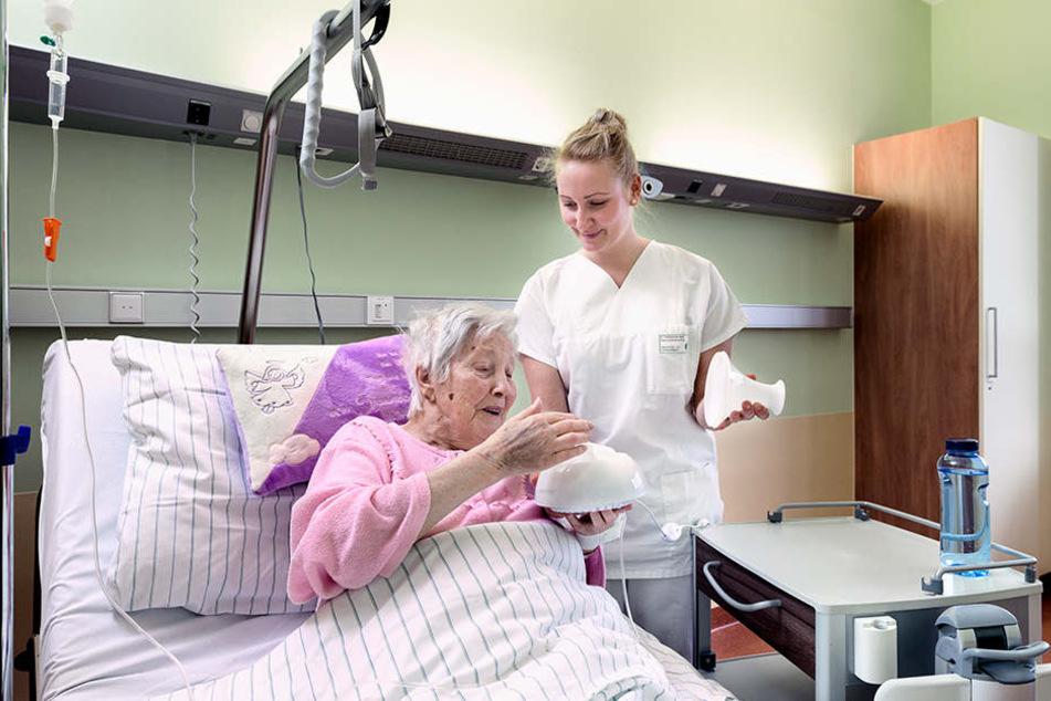 Die Aromapflege wird im Leipziger Diakonissenkrankenhaus als begleitende Pflegemethode eingesetzt, um die Selbstheilungskräfte der Patienten zu stärken.