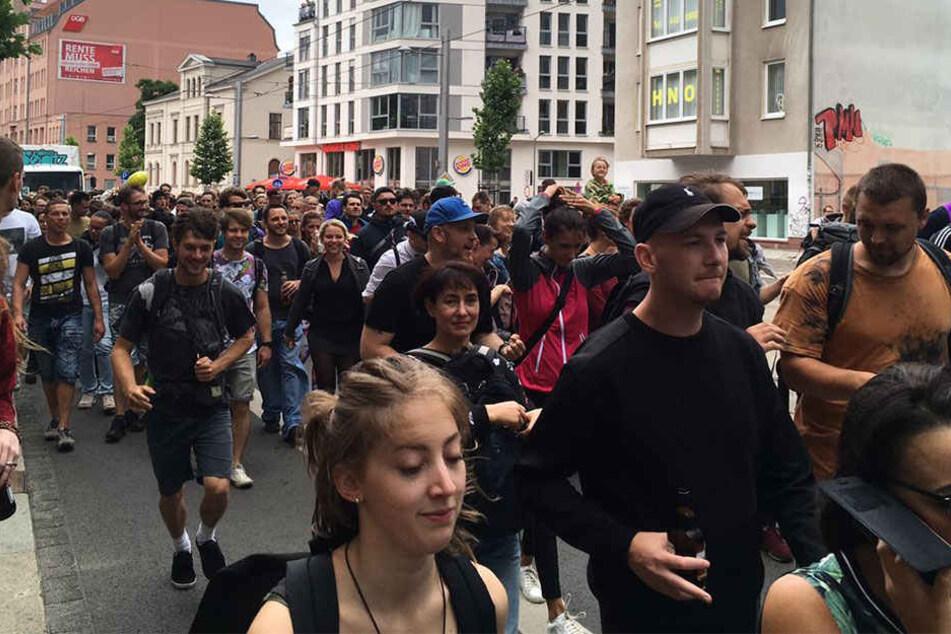 Tanzen gegen Sexismus und Rassismus in Leipzig