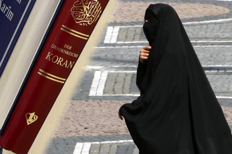 Neben der Burka, einem Ganzkörpergewand, sind noch weitere Kleidungsstücke, die das Gesicht von Frauen verhüllen, im öffentlichen Raum verboten.