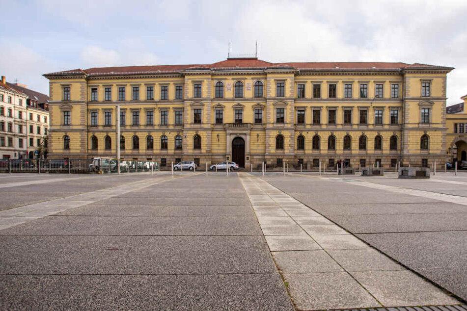 Das Landgericht Leipzig verhandelt seit gestern die Messer-Attacke vom April.