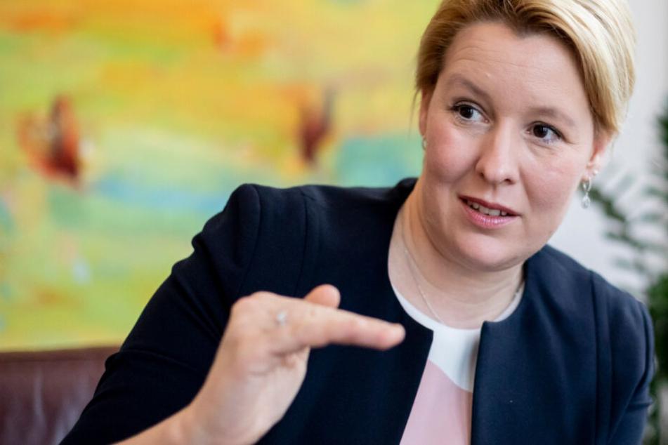 Der Entwurf von Familienministerin Franziska Giffey (SPD) soll wenig Chancen haben. (Archiv)