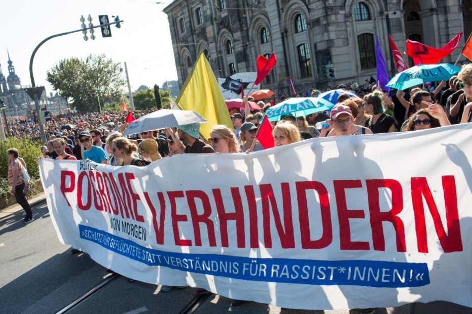 Die Antifa will am Sonntag in Heidenau demonstrieren und so an die rechtsradikalen Ausschreitungen vor einem Jahr erinnern.