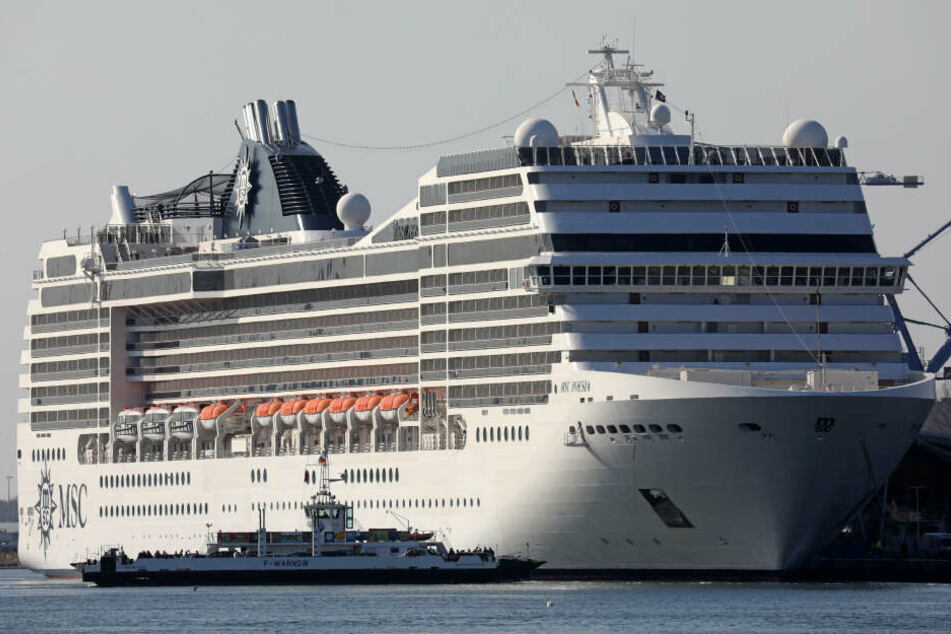 Das Drama ereignete sich auf einem MSC-Kreuzfahrtschiff (hier MSC Poesia).