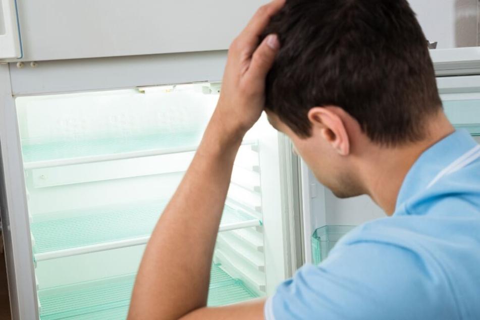 Bei vielen muss der Kühlschrank oft leer bleiben. (Symbolbild)