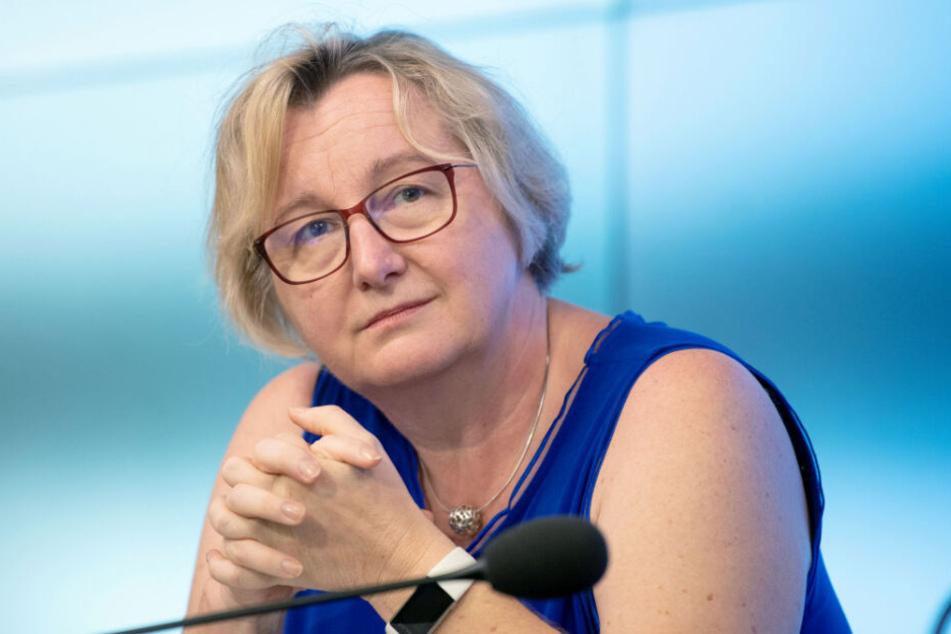Baden-Württembergs Wissenschaftsministerin Theresia Bauer (54, Grüne).