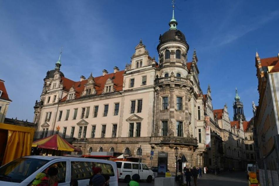 Das Grüne Gewölbe ist im Dresdner Schloss untergebracht.