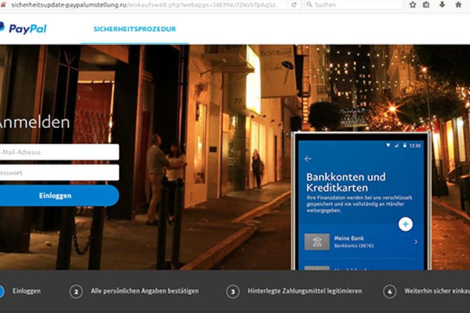 Cyber-Kriminelle locken derzeit PayPal-Kunden in die Abzock-Falle.