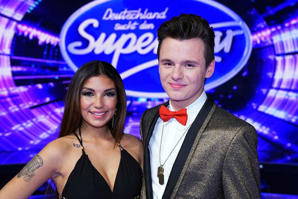 Monique Simon und Sandro Brehorst mussten die Show am Samstag verlassen.