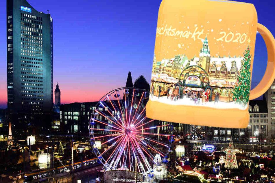 Leipzig: Leipziger Weihnachtsmarkt-Tassen 2020 sind ein weltweites Novum