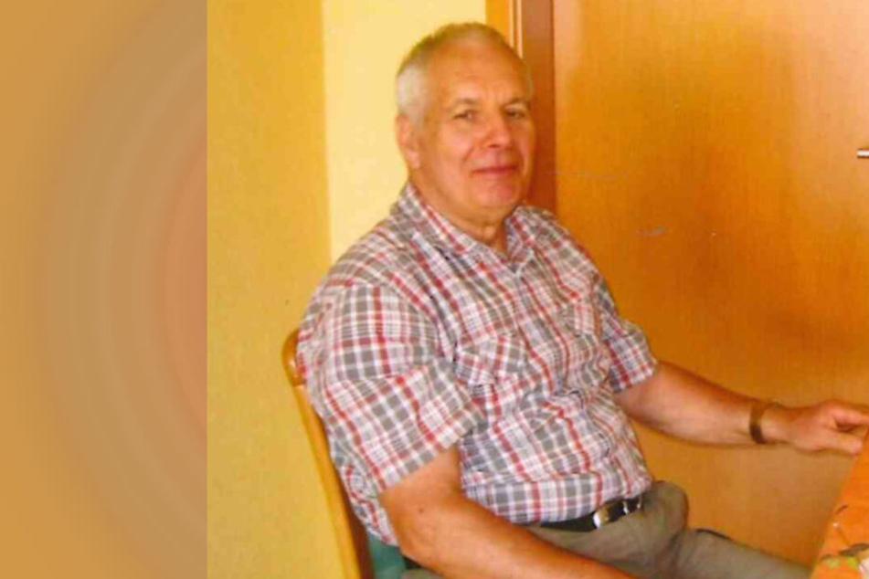 Er ließ seine Frau alleine zurück: Wo ist Gunter (75)?
