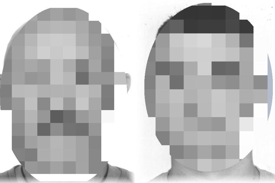 Die Polizei suchte diese beiden Männer.