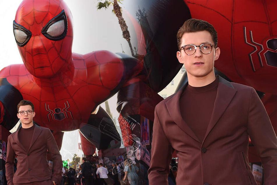 Fans außer sich: So sieht Spider-Man Tom Holland nicht mehr aus!
