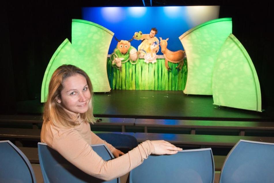 Theater-Chefin Monika Gerboc (37) sucht jetzt noch mutige Darsteller.
