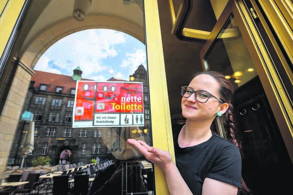 """Keine """"Nette Toilette"""" im Chemnitzer Rathaus"""