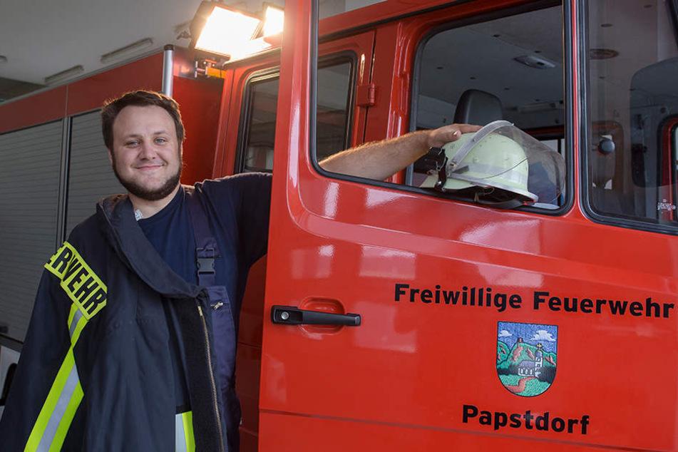 Die Papstdorfer Feuerwehrfahrzeuge werden zukünftig von den Kameraden der Ortswehren Kleinhennersdorf und Cunnersdorfer genutzt.