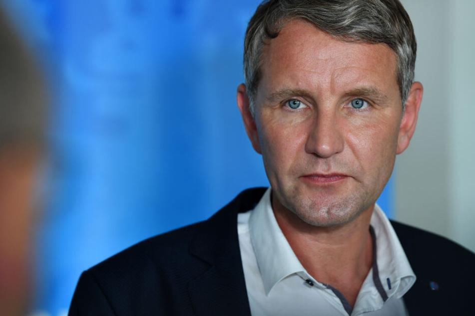 Björn Höcke ist Vorsitzender der AfD in Thüringen.
