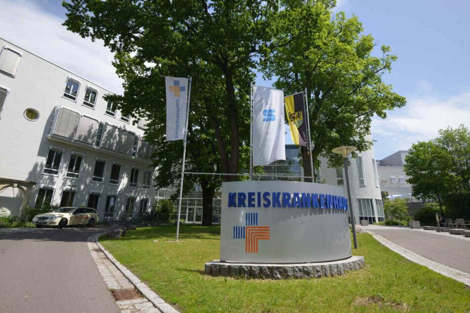 Im Kreiskrankenhaus Freiberg fühlte sich Petra Walther (64) gut aufgehoben.