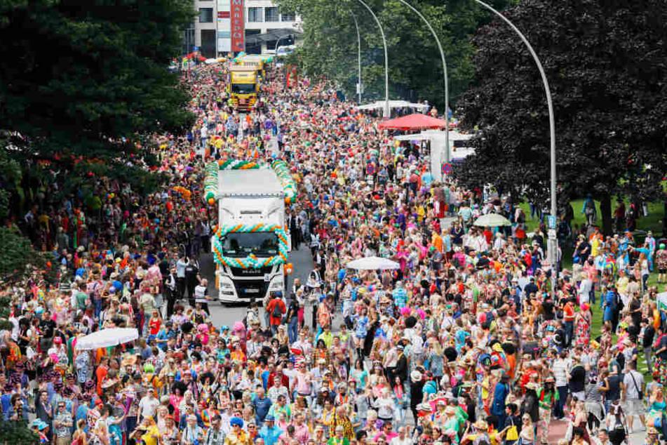 Zum Schlagermove werden bis zu 500 000 Gäste erwartet. (Archivbild.)