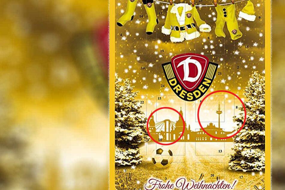 Peinlich oder lustig? Panne auf Dynamos Weihnachts-Kalender