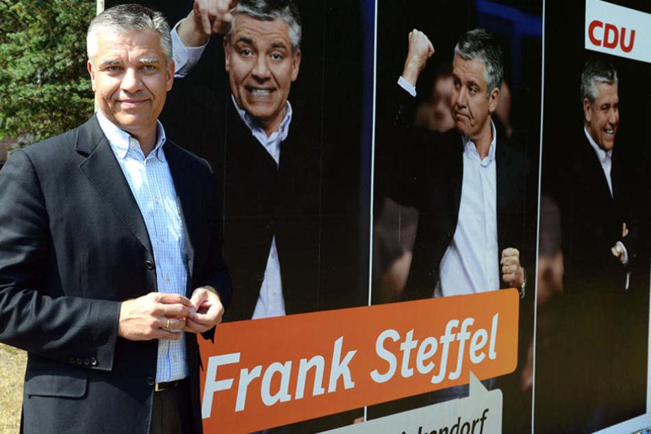Bundestagsabgeordneter Frank Steffel hat die Wahlbriefe verfassen lassen.