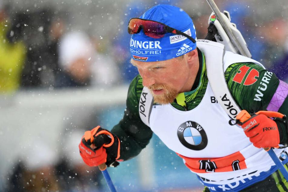 Biathlon-Star Erik Lesser schafft doch noch den Sprung ins WM-Team