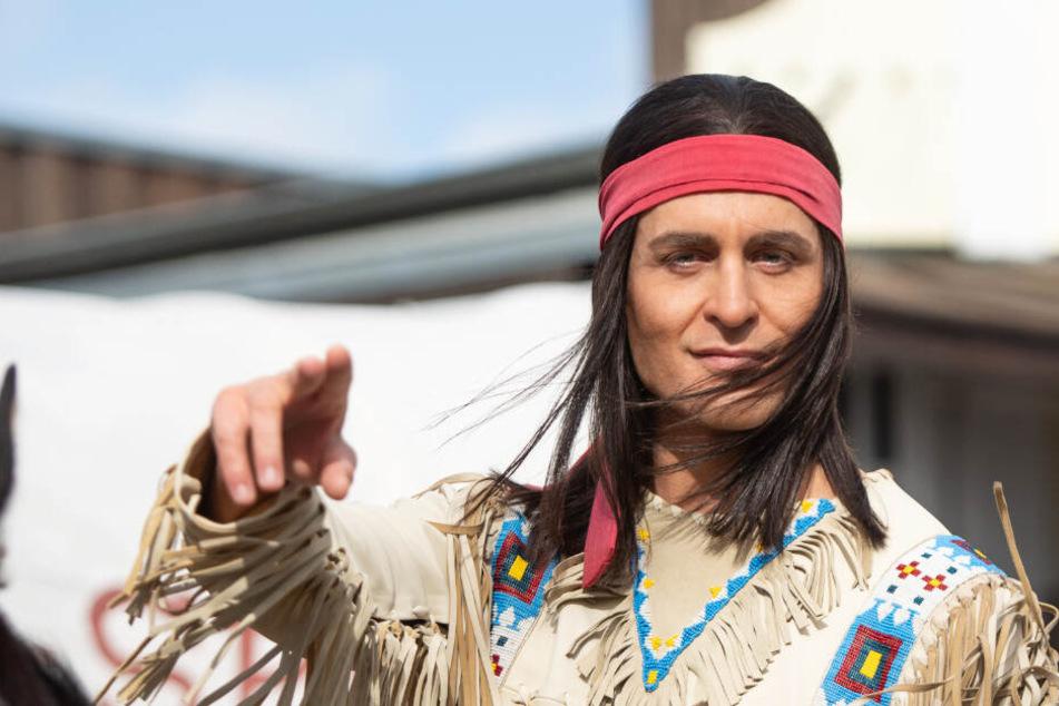 Erstmals als Winnetou bei den Karl-May-Spielen zu sehen: Schauspieler Alexander Klaws.