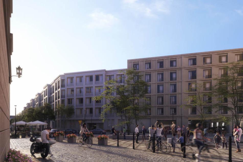 Auf dem etwa 19.000 Quadratmeter großen Areal sollen auch zwei öffentliche Plätze entstehen.