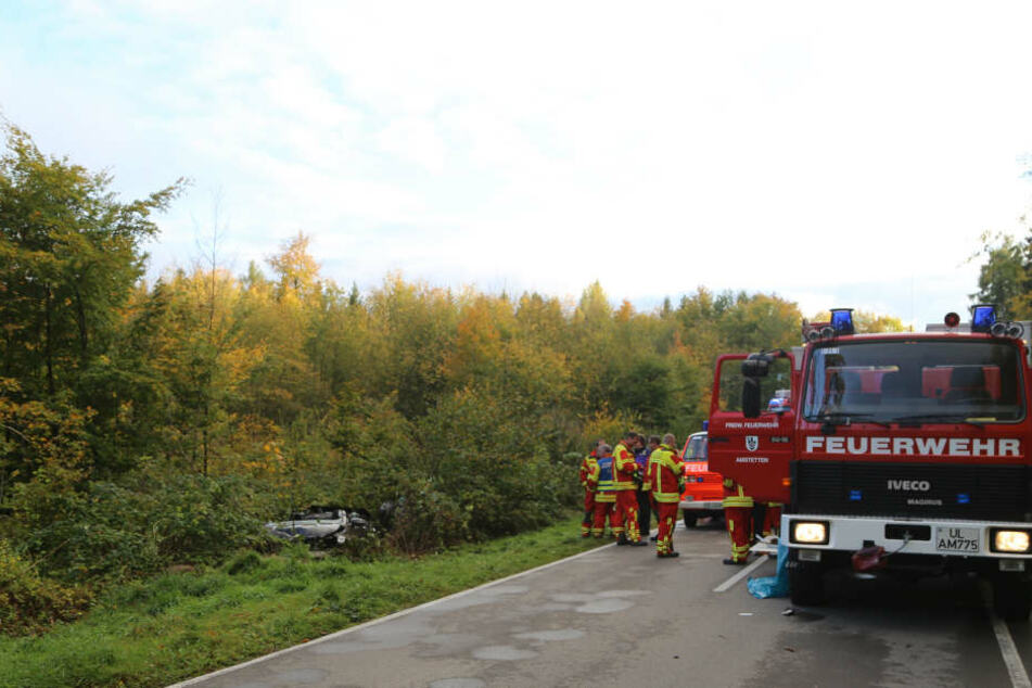 Die Rettungskräfte wurden zu einem Trümmerfeld gerufen.