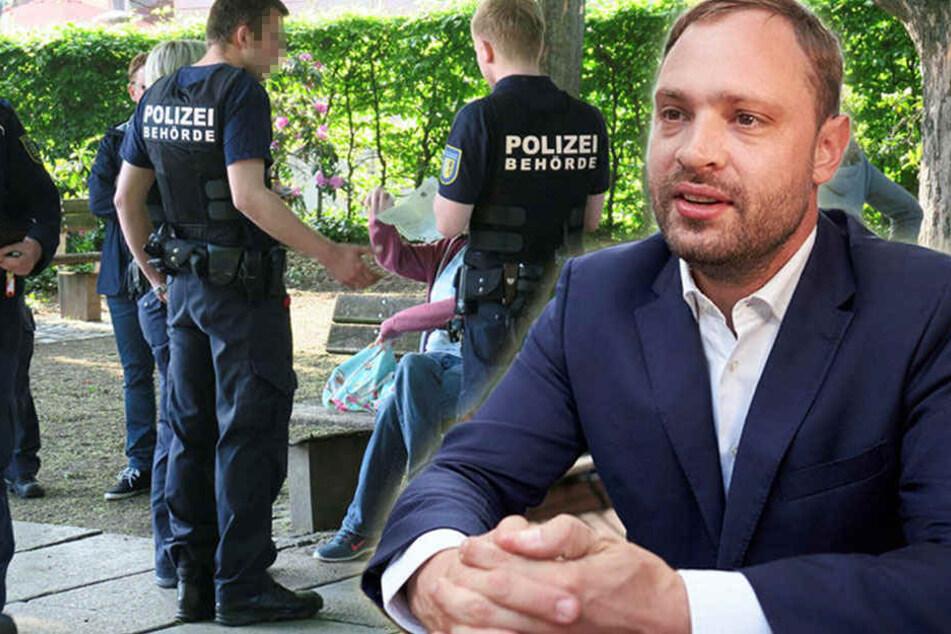 Brandstiftungen und Randale: Chemnitz braucht mehr Ordnungshüter!