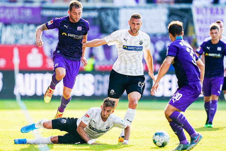 Der SV Sandhausen könnte für Borussia Mönchengladbach ein unangenehmer Gegner in der ersten DFB-Pokal-Runde werden.