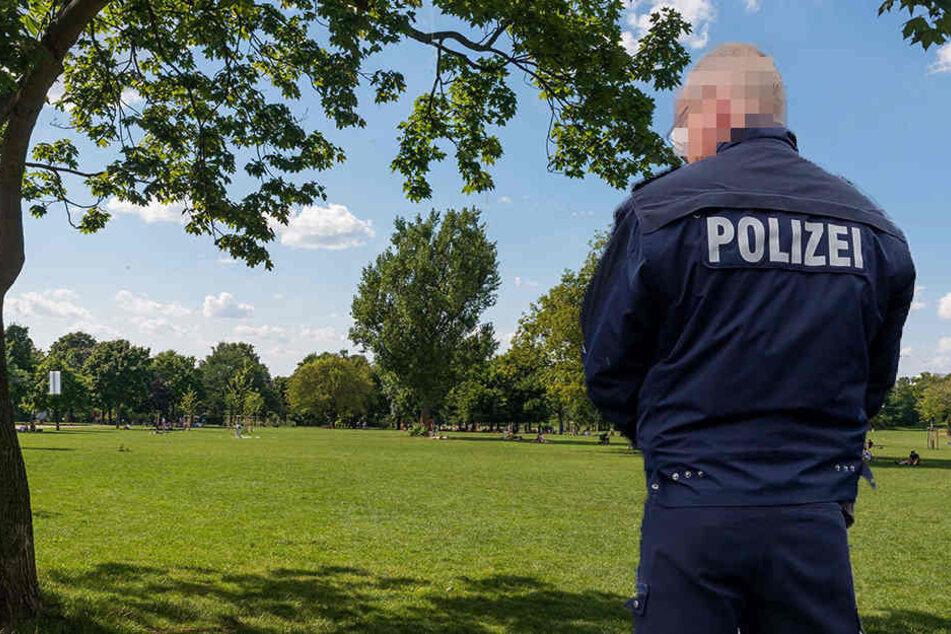 Wieder prügelten sich mehrere Leute im Alaunpark. (Symbolbild)