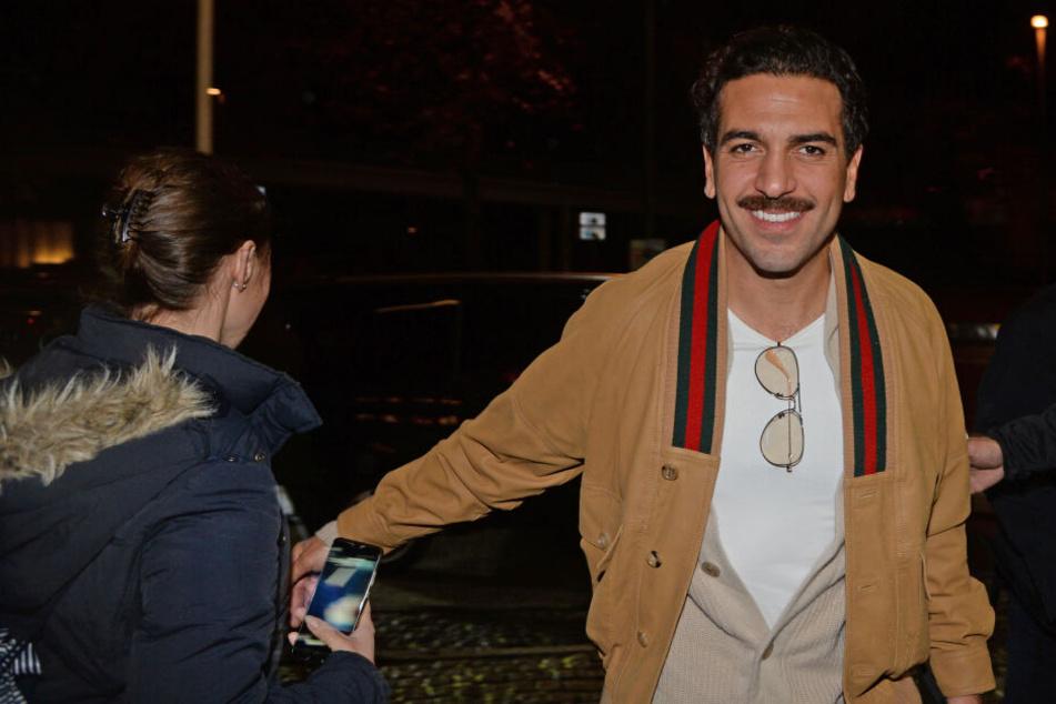 Auch Elyas M'Barek sorgte für eine Überraschung am Kino Dammtor.