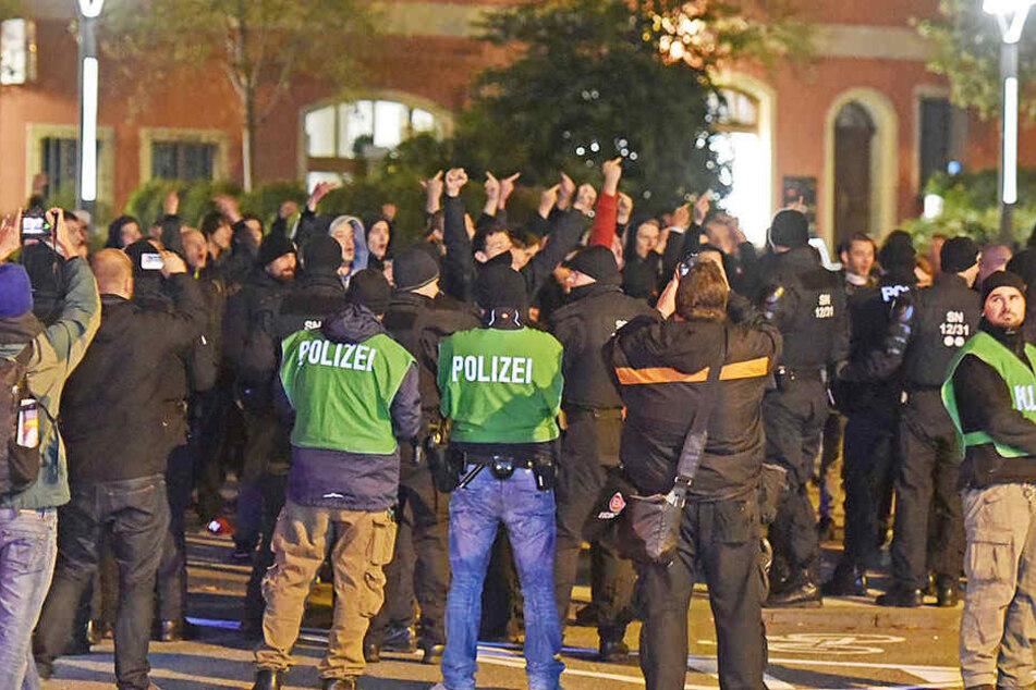 Rechtsextreme ziehen durch Cottbus: Staatsschutz ermittelt!