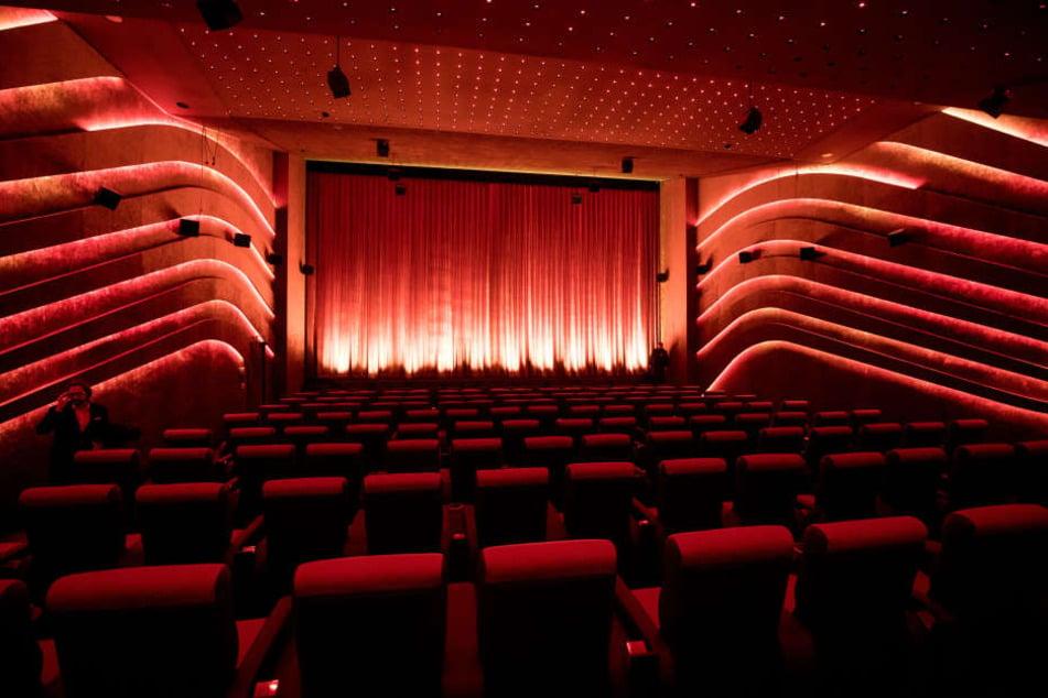 """Der Saal """"Astor 1"""": Einer der drei modernen Kino-Säle in der Hafencity."""