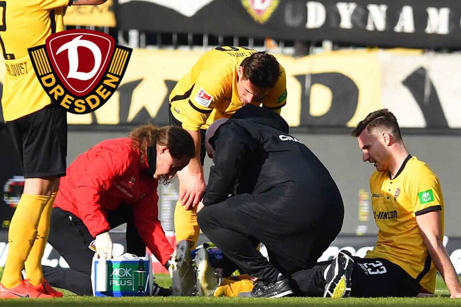 Verletzungsschock bei Dynamo! Ballas fällt länger aus