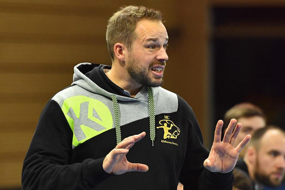 Christian Pöhler übernimmt wieder das Training vom HC Elbflorenz.
