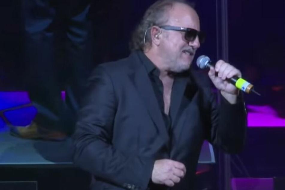 Rüdisser während eines Live Auftritts in der Grazer Oper 2017.