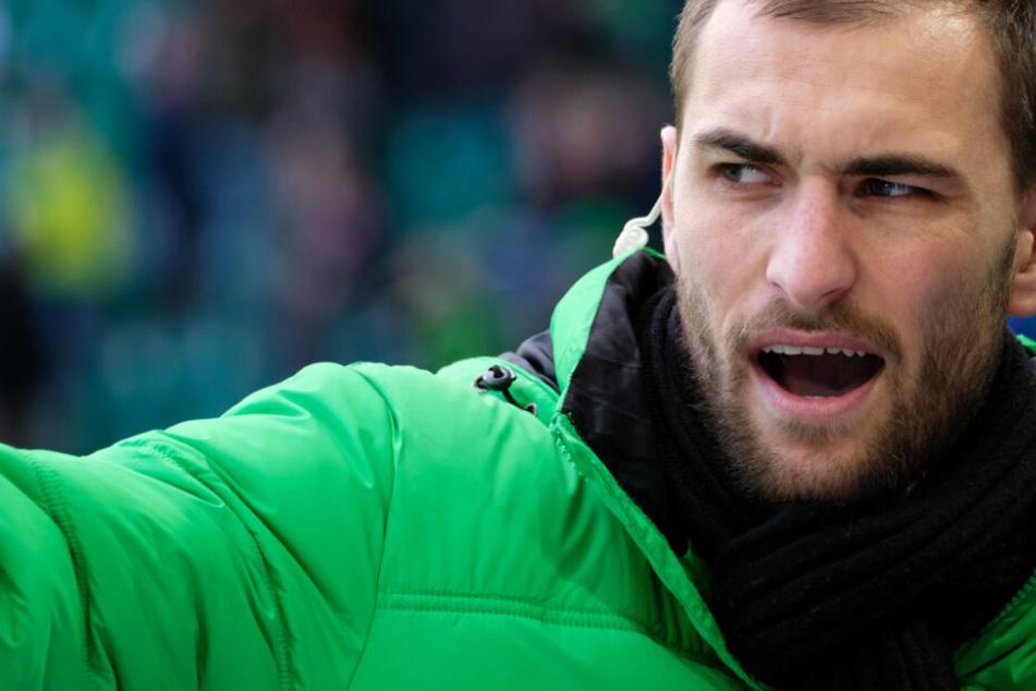 Stürmer Bas Dost (Archivbild) wird wohl bald schon für Eintracht Frankfurt auflaufen.