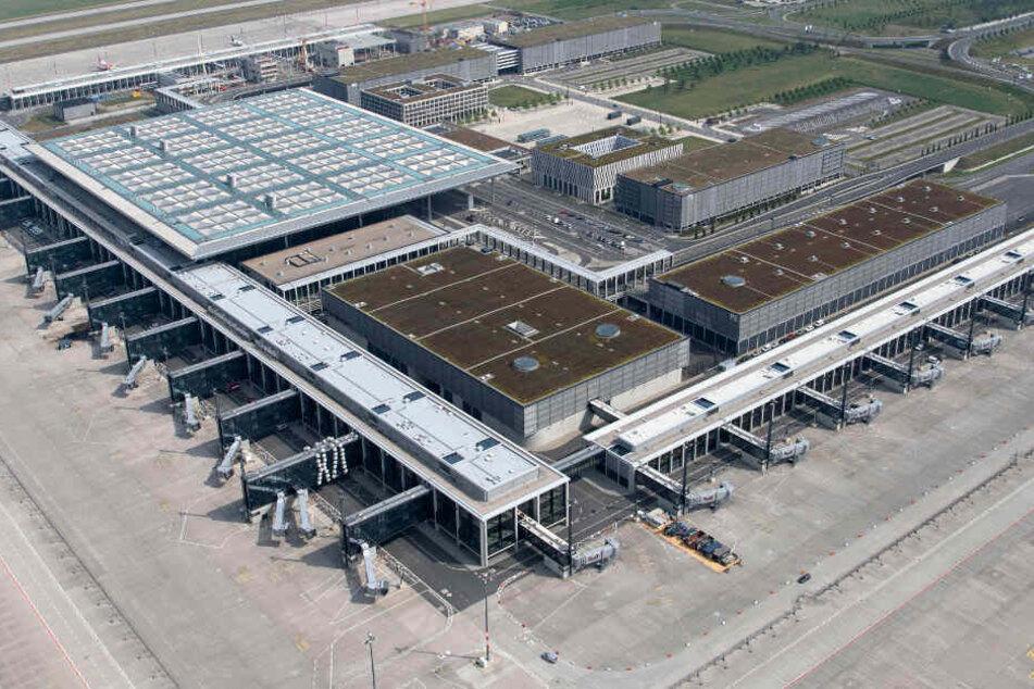 Blick über den Hauptstadtflughafen.