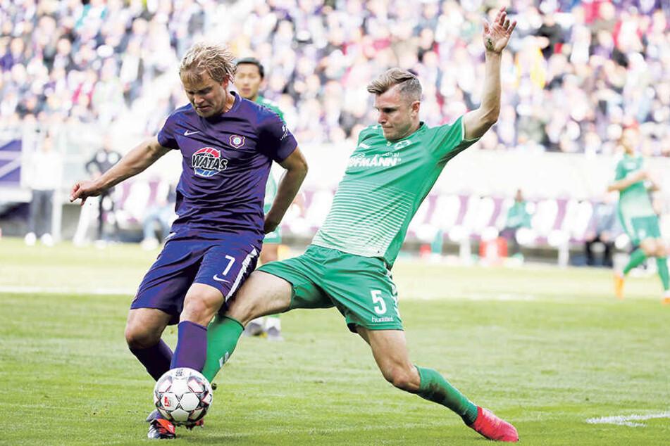 Jan Hochscheidt erfüllte alle in ihn gesetzte Erwartungen. Er spielte immer, erzielte acht Tore und bereitete fünf vor.