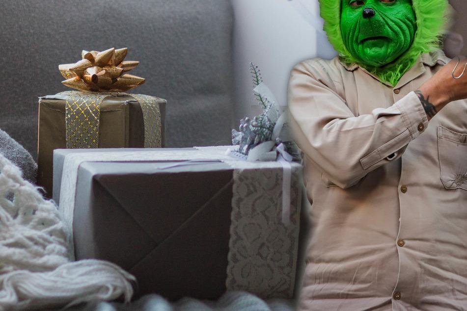 War es der Grinch? Familie stellt Weihnachtsgeschenke im Treppenhaus ab und erlebt böse Überraschung