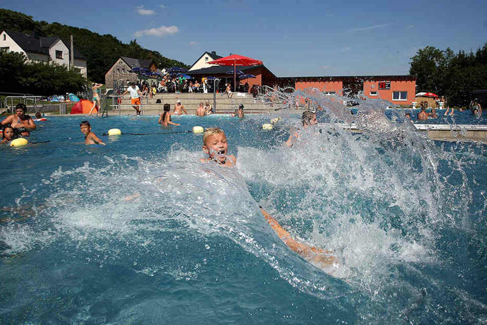 Das Freibad Einsiedel bleibt noch bis 4. September geöffnet.