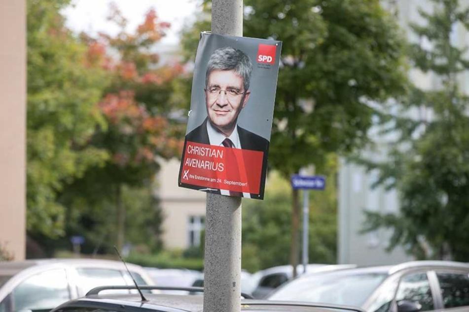 Die Zeit der Wahlplakate ist vorbei.