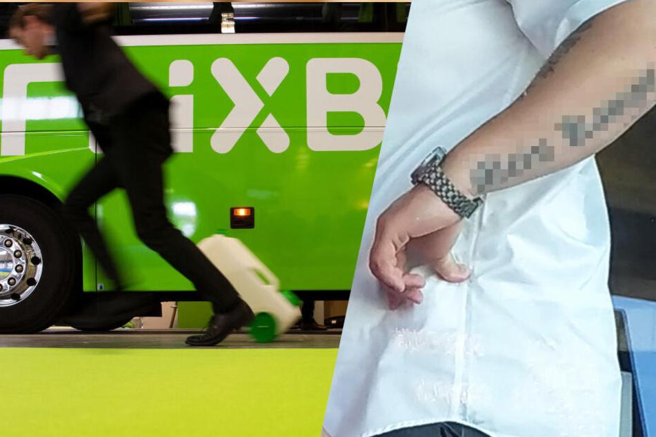 Flixbus suspendiert Busfahrer wegen diesem riesigem Nazi-Tattoo