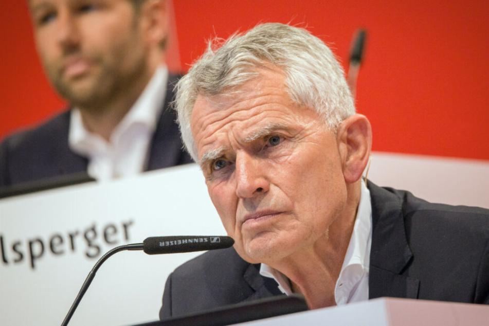 Ex-VfB-Präsident Wolfgang Dietrich.