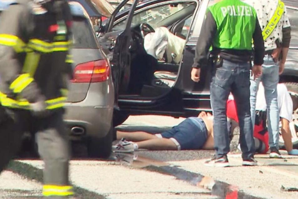 Unfall Hamburg: Verfolgungsjagd endet mit Verkehrsunfall und mehreren Verletzten