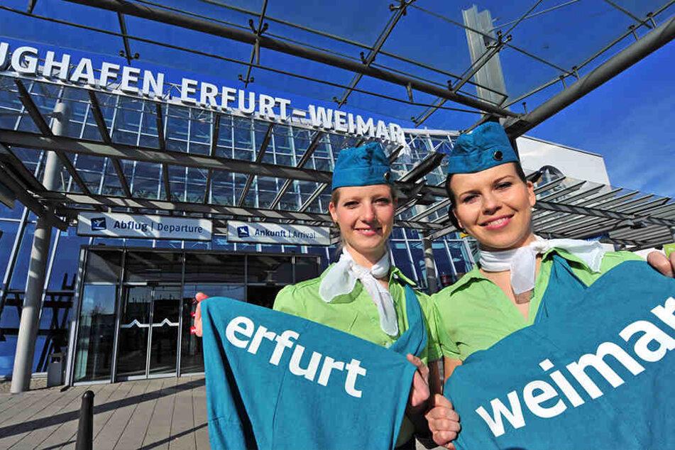 Der Flughafen in Erfurt hat die Note 1,8 bekommen.
